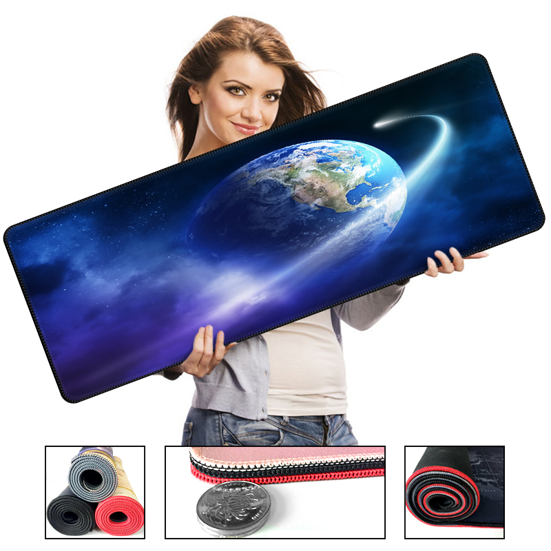 Large Game Mouse Pad Super Locking Edge high quality DIY pictures super big size computer tablet Natural Rubber Pad Anti-slip