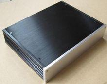 2806 caixa de alumínio completa do amplificador do cerco/dac/amplificador do chassi amp