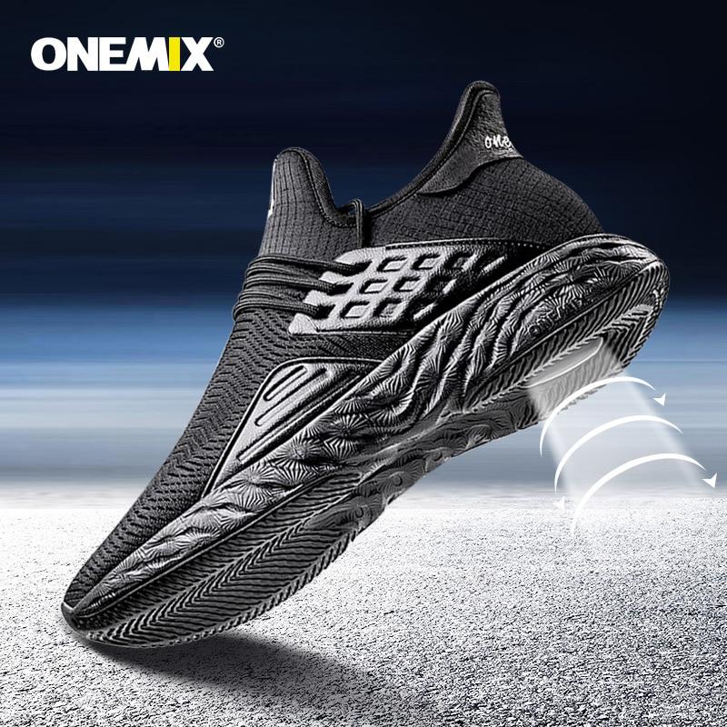 Onemix Men's Running Shoes For Men Mesh Boots Breathable Designer Jogging Sneakers Outdoor Sport Walking Trainers Plus Size