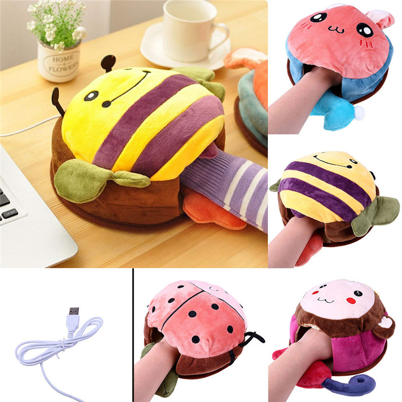 HIPERDEAL Cute Cartoo Animals USB Heated Mouse Pad Hand Warmer - Shop For Gamers