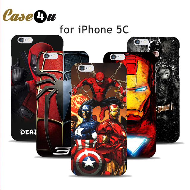custodia iphone 5c avengers
