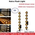 Dj equipements rétro Flash lumière 6X300 W Transport lumière Dj effet d'éclairage discothèque DJ effet de lavage de scène lumière LED lumière noire|Éclairage de scène à effet| |  -