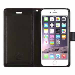 Image 4 - GOOSPERY Mercúrio originais Ricos Diário Tri Fold Wallet Case Capa para Apple iPhone 5 5S SE 6 6s 7 8 Plus X XS XR XS MAX 11 Pro max