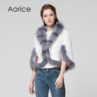 SRR010 Genuine Mink Fur Knitted Wine Red Coat Russian Women S Winter Real Mink Fur Shawl