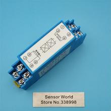Raylı sıcaklık verici 24VDC PT100 0 10V/ PT1000 0 10V/k tipi 0 10V