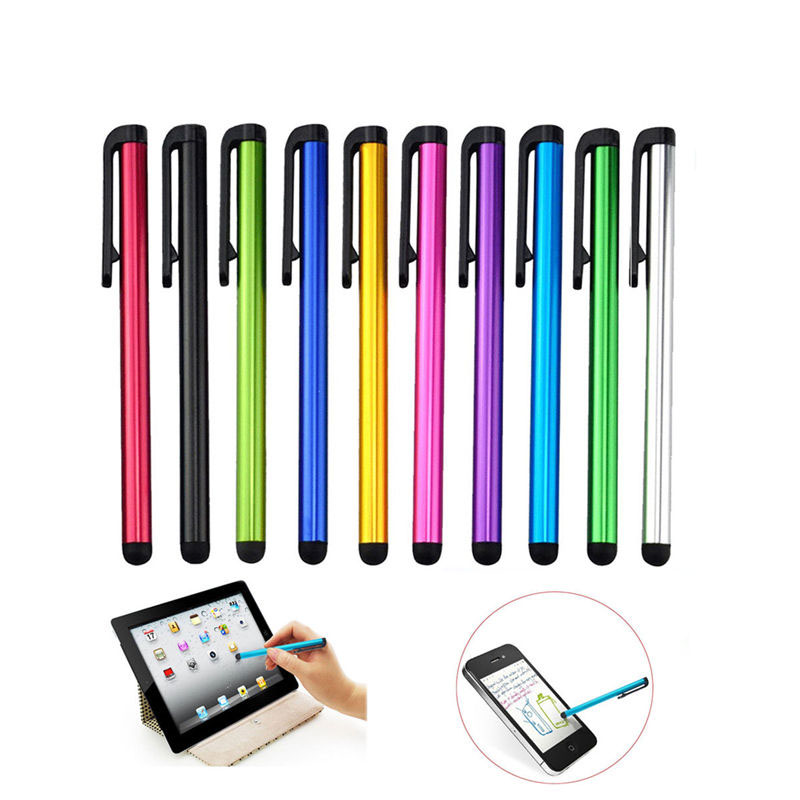 10pcs/lot Capacitive Tablet Pen For IPhone 6 7 8 IPad Mini Air Touch Screen Stylus Pen For Huawei Samsung Smartphone Tablet Pen