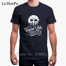 cee0ffaf2549 Top Quality Camp Crystal Lake Counselor T-Shirt For Men Summer O Neck Tshirt  Mens