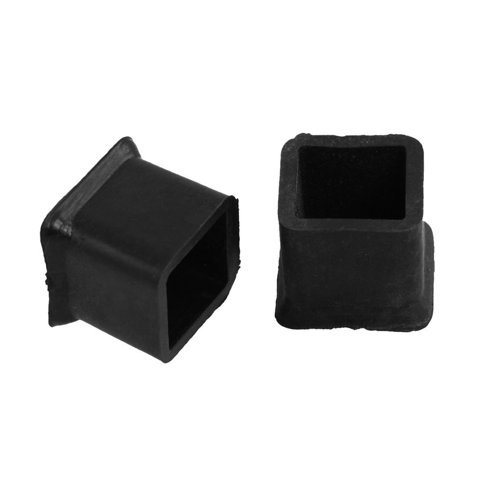High Quality New 10Pcs Furniture Chair <font><b>Table</b></font> <font><b>Leg</b></font> <font><b>Rubber</b></font> Foot Covers Protectors 20mm x 20mm image