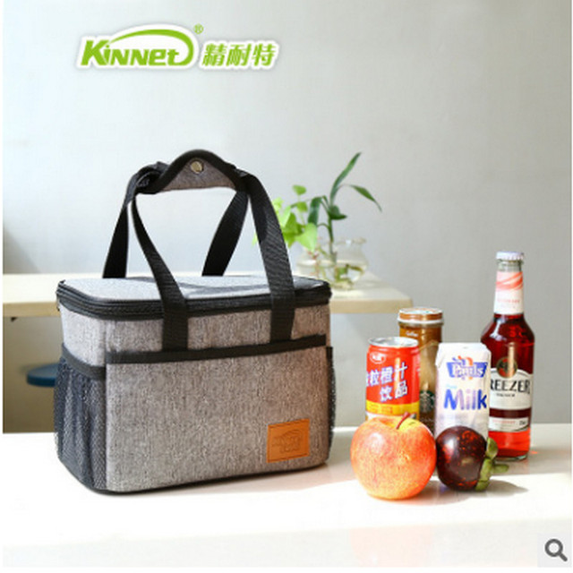 Hi-Q Protable Ice Bags Oxford Hand Carry Thickened Cooler Bags Lunch Bag Food Thermal Organizer cooler bag