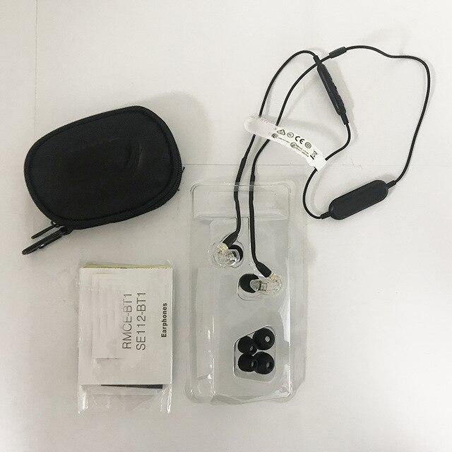 2018 di Marca Nuovo SE215 Senza Fili Staccabile Auricolare SE215-BT1 Hi-Fi Stereo Cuffie in-ear Auricolari Fone de Ouvido Bluetooth