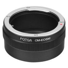 Bague adaptateur Fotga pour objectif de montage Olympus OM vers Canon EF EOS M appareil photo sans miroir pour objectif ef/efs