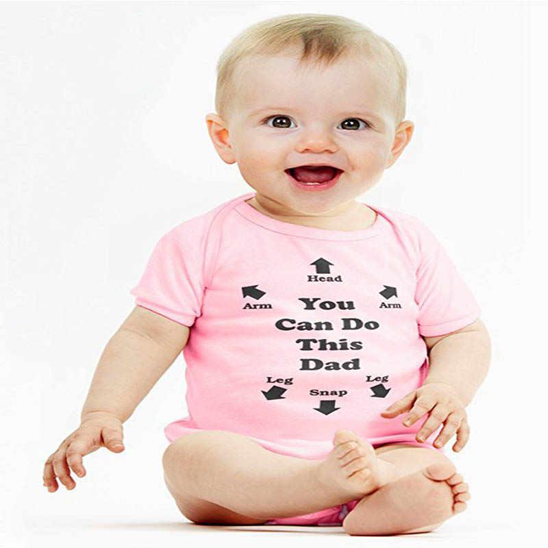 YSCULBUTOL Baby моя первая роковая футболка, одежда черное и красное боди 0-12 м