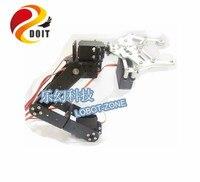 DOIT 5DOF Robot Arm/ A full Set of Aluminum Robot Arm Servos Bracket and 1 pcs Metal Mechanical Claw