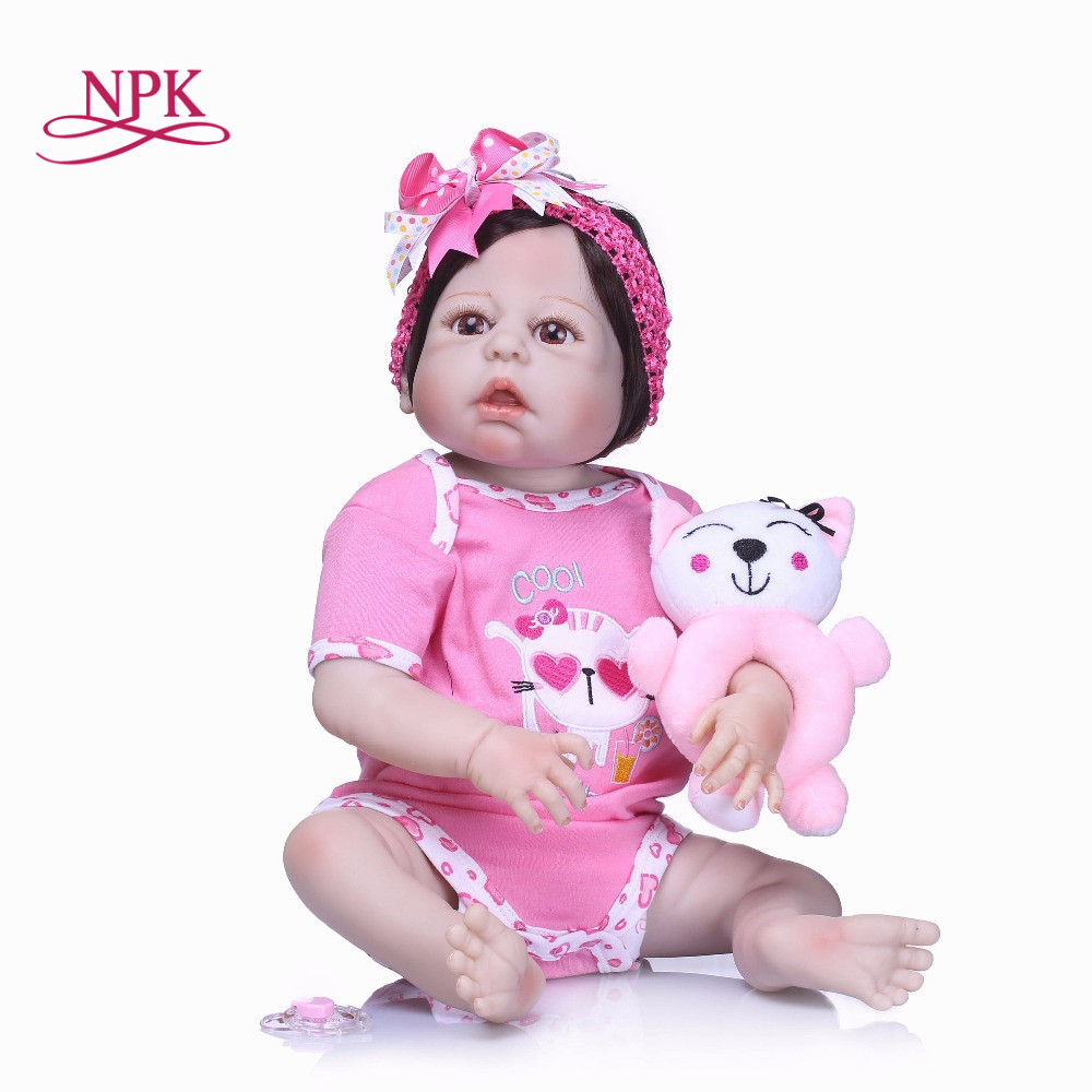 22 reborn Baby Doll Princess Girl Dolls full body Soft Silicone Babies Girls Lifelike real born dolls bebe real reborn bonecas цена