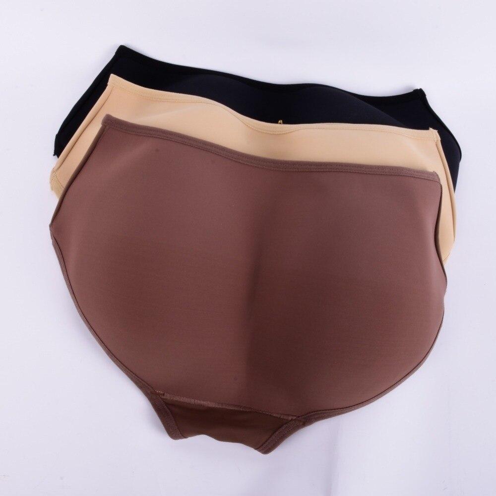 Women font b Padded b font Seamless Full font b Butt b font Hip Enhancer Panties