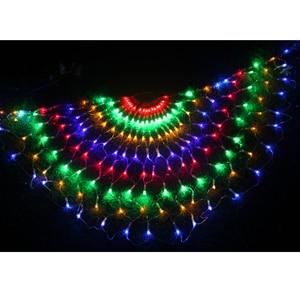 Image 4 - 3M RGB 3peacocks LED Outdoor Indoor LED Fairy String Curtain Light Xmas Party Wedding Celebration courtyard Decoration 110V 220V