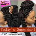 Kanekalon Braiding Hair Crochet Hair Extensions Faux Locs Braid Synthetic Dreadlocks Braids 2x Havana Dreadlocs 24strand