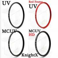 KnightX UV MCUV HD filter for sony nikon canon dslr camera lens accessories fotografie objectif p500 49 52 55 58 62 67 72 77 mm