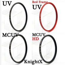 HD-FILTER Dslr-Camera Knightx Objectif Sony Lens-Accessories Nikon Fotografie MCUV Canon