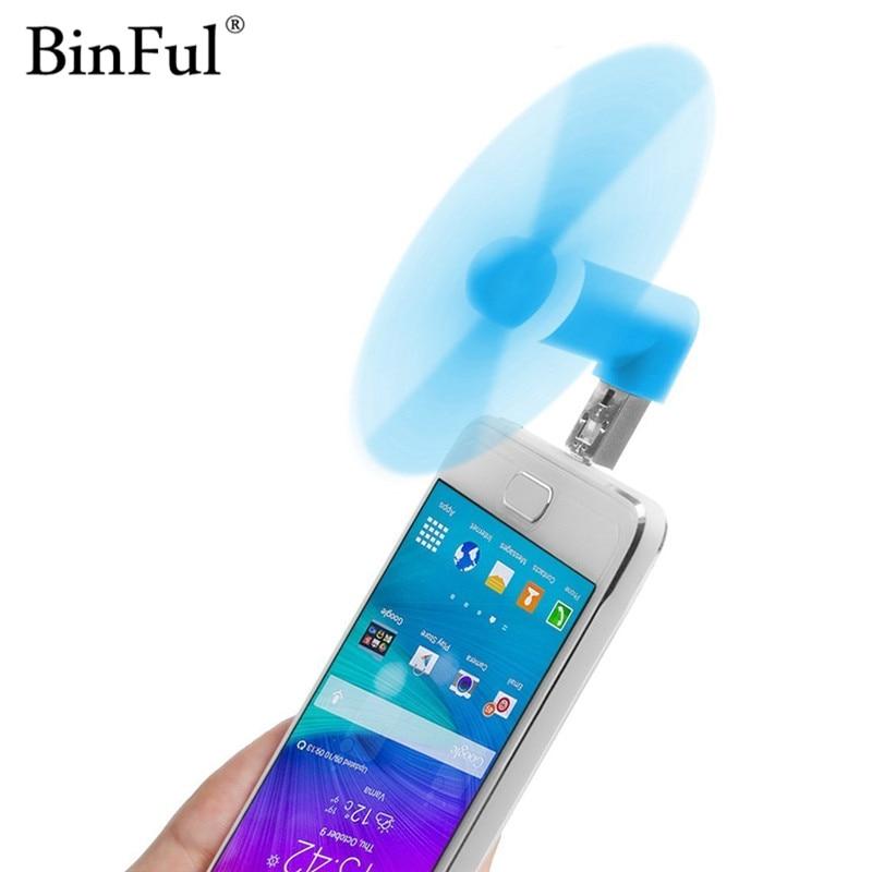 Binful 2 In 1 Mini Cool Portable Powerbank Usb Fan Micro
