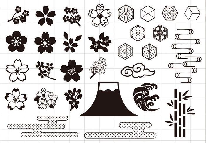 YPP ARTISANAT Fleurs Transparent Silicone Timbre/Joint pour le BRICOLAGE scrapbooking/photo album Décoratif timbre clair feuilles 908