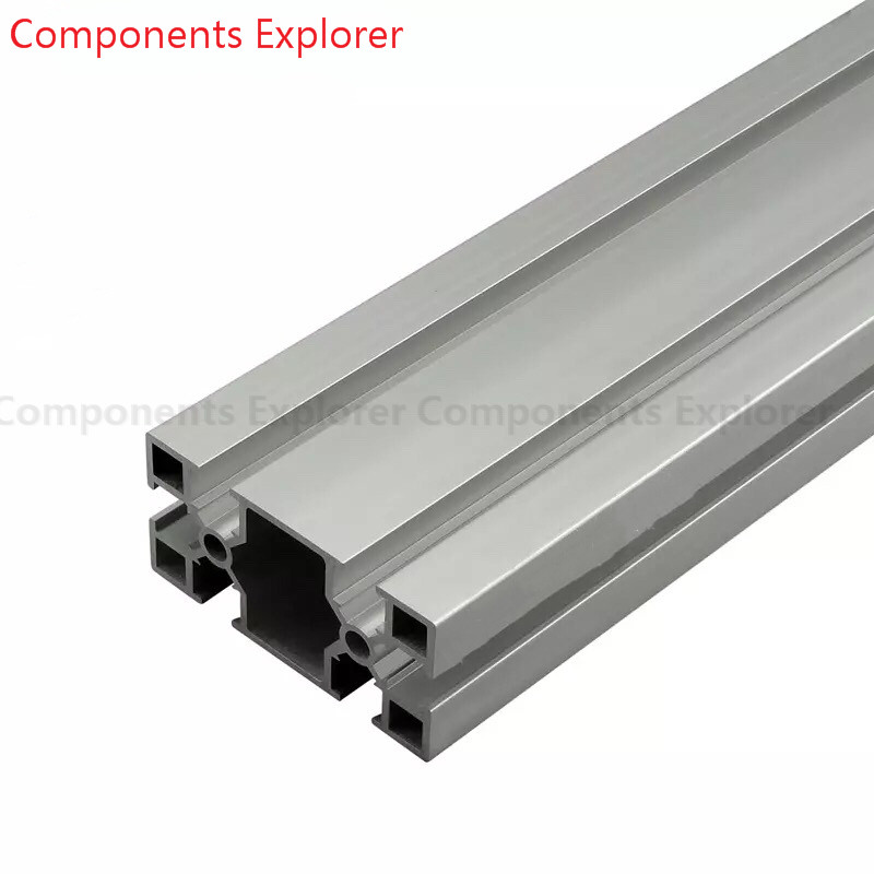 Arbitrary Cutting 1000mm 4080GD Aluminum Extrusion Profile,Silvery Color.
