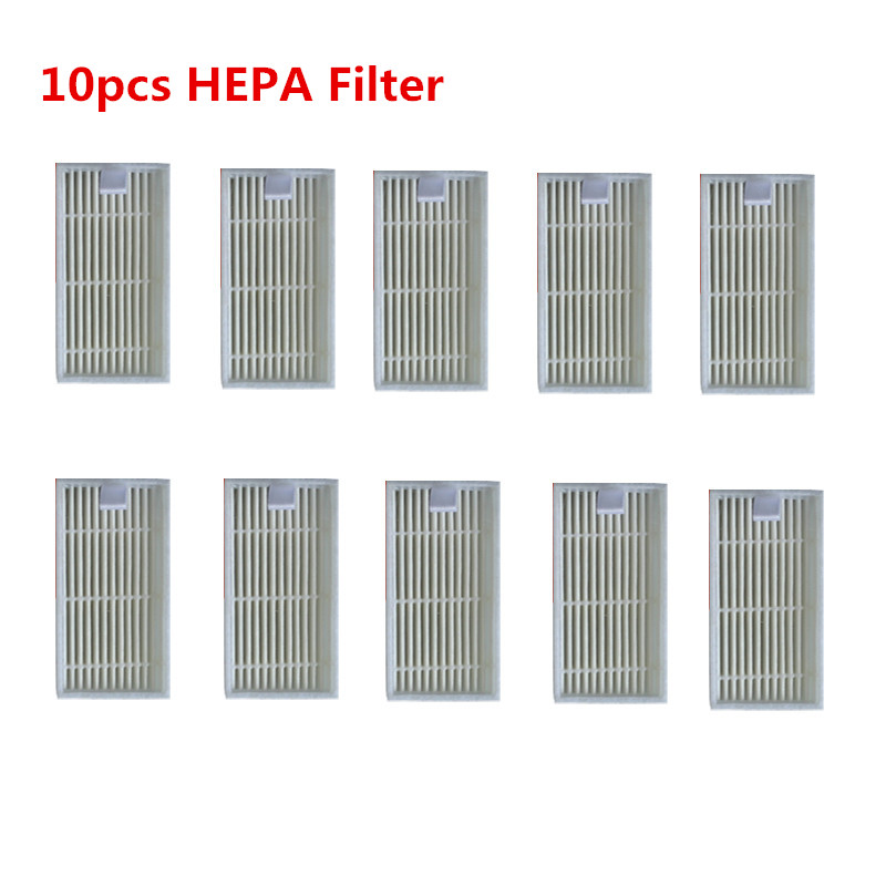 Intellective 10pcs /lot Robot Vacuum Cleaner Parts Hepa Filter Replacement For Panda X500,haier T322,gutrend Joy 90 Pet Fun110 Cleaning Appliance Parts Home Appliance Parts