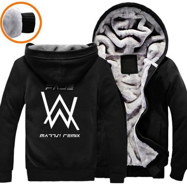 Roupas de marca hip hop dj alan walker camisola hoodies homens roupas de marca hip hop dj alan walker camisola hoodies homens homens jaqueta de inverno preto stopboris Image collections