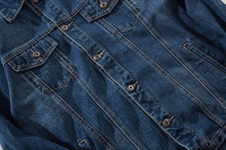 Printed Denim Jacket 4
