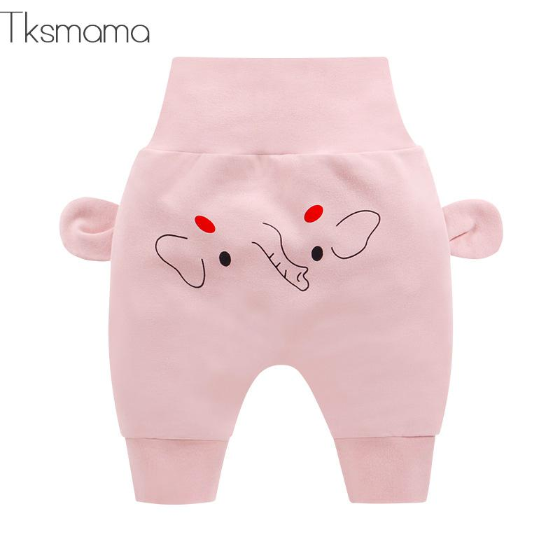 Pure Cotton Baby Kids Fashion Pants Baby Boy Cartoon Trousers Baby Girl Comfortable Trousers(China)