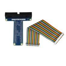Raspberry Pi 3 40 Булавки Плата расширения адаптер + 40 Булавки GPIO кабельной линии для банан Pi M3/ Raspberry Pi 2/Для Оранжевый Pi PC