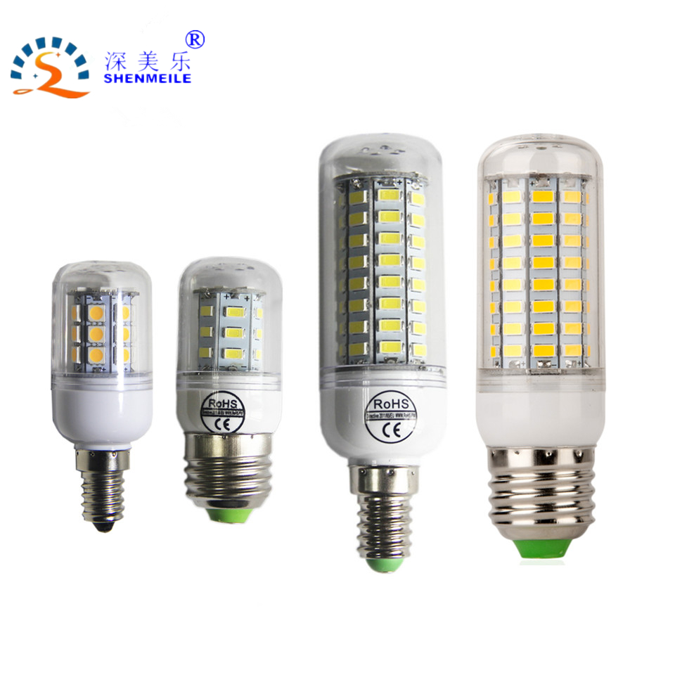1pcs led corn lamp e27 e14 220v 2w 4w 6w smd 5730 led corn bulb 220v chandelier 24 56 72 candle. Black Bedroom Furniture Sets. Home Design Ideas