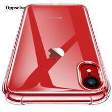 Oppselve Luxury Anti-knock Case For iPhone X 10 Capinhas Ultra Thin Clear Soft TPU Silicone Cover Coque Fundas