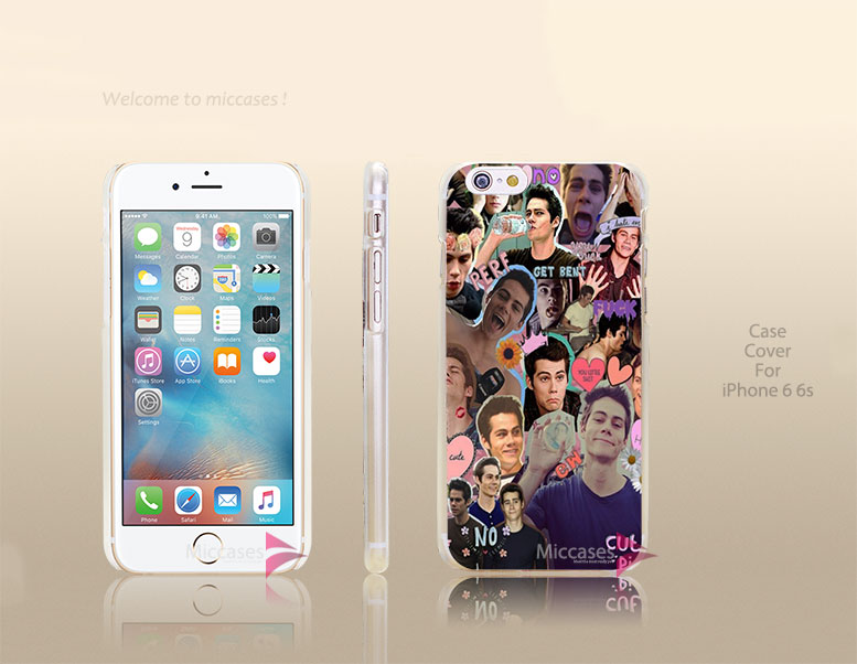 Dylan O'Brien Hard Transparent Clear Case Cover for apple iphone 4 4s 5 5s 5c se 6 6s plus