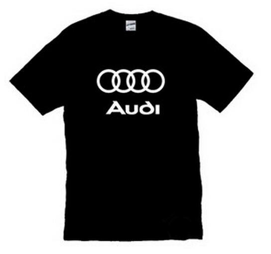 Summer T-shirt With Audi Logo (6 Colors)