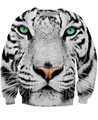 Women Men 3d sweats camisolas Tiger Frost Sweatshirt Vetement femme animal jumper white sudadera pull femme moleton feminine
