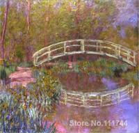 Art gift Le Pont Japonais Dans Le Jardin Claude Monet Oil paintings Handmade High Quality