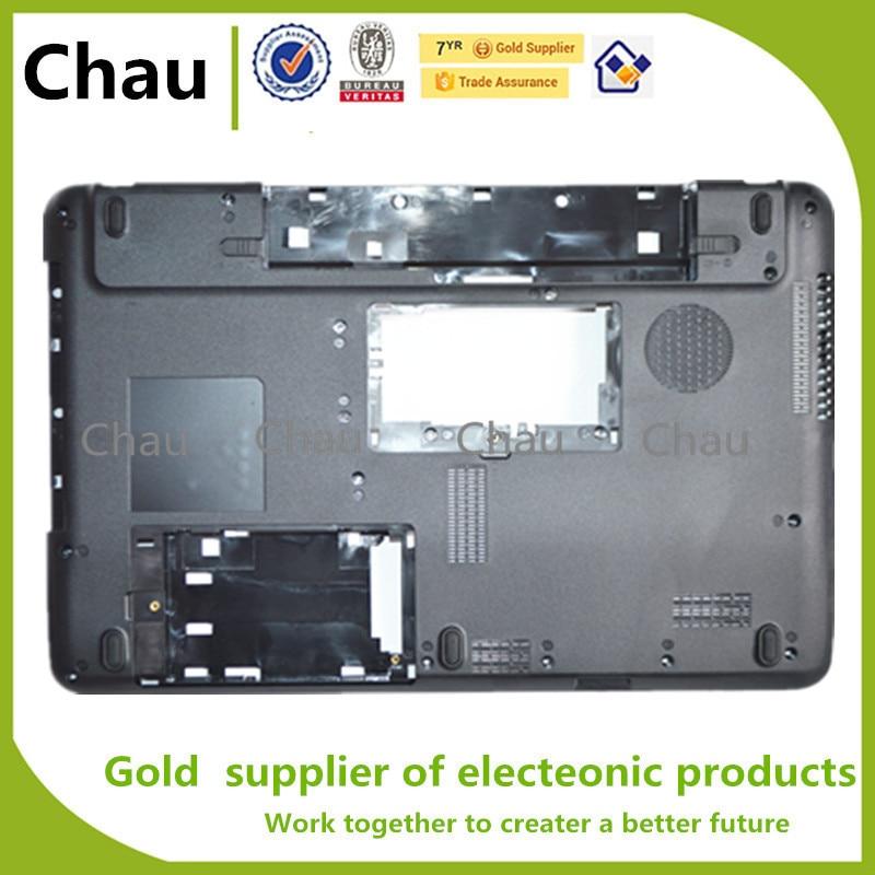 New For Toshiba C655D C655 C650 Bottom Base Cover Case V000220070 V000221090 new for toshiba satellite c650 c655 c655d palmrest cover no touchpad laptop bottom base case cover