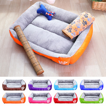 S-3XL Dogs Bed With Waterproof Bottom In 11 Colors 1