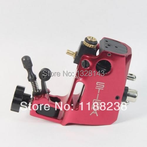 High quality Professional Red Swiss Motor tattoo gun Stigma Hyper V3 Rotary Tattoo Machine Liner& Shader Top Free shipping new top quality professional coral motor tattoo rotary machine gun for liner shader red free shipping