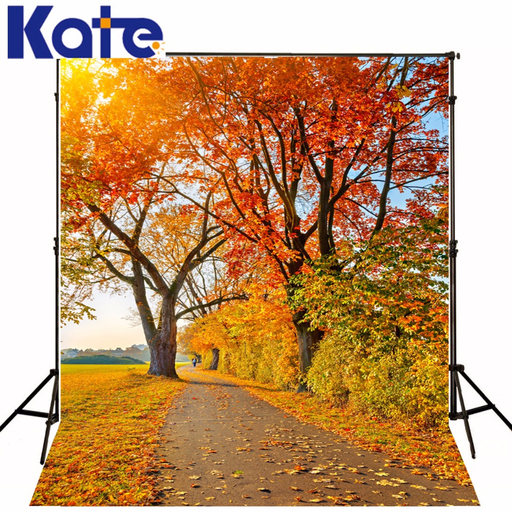 Kate Natural Scenery Photography Backdrop Autumn Defoliation For Outdoor Wedding Photography Background Camera Fotografica kate photo background scenery