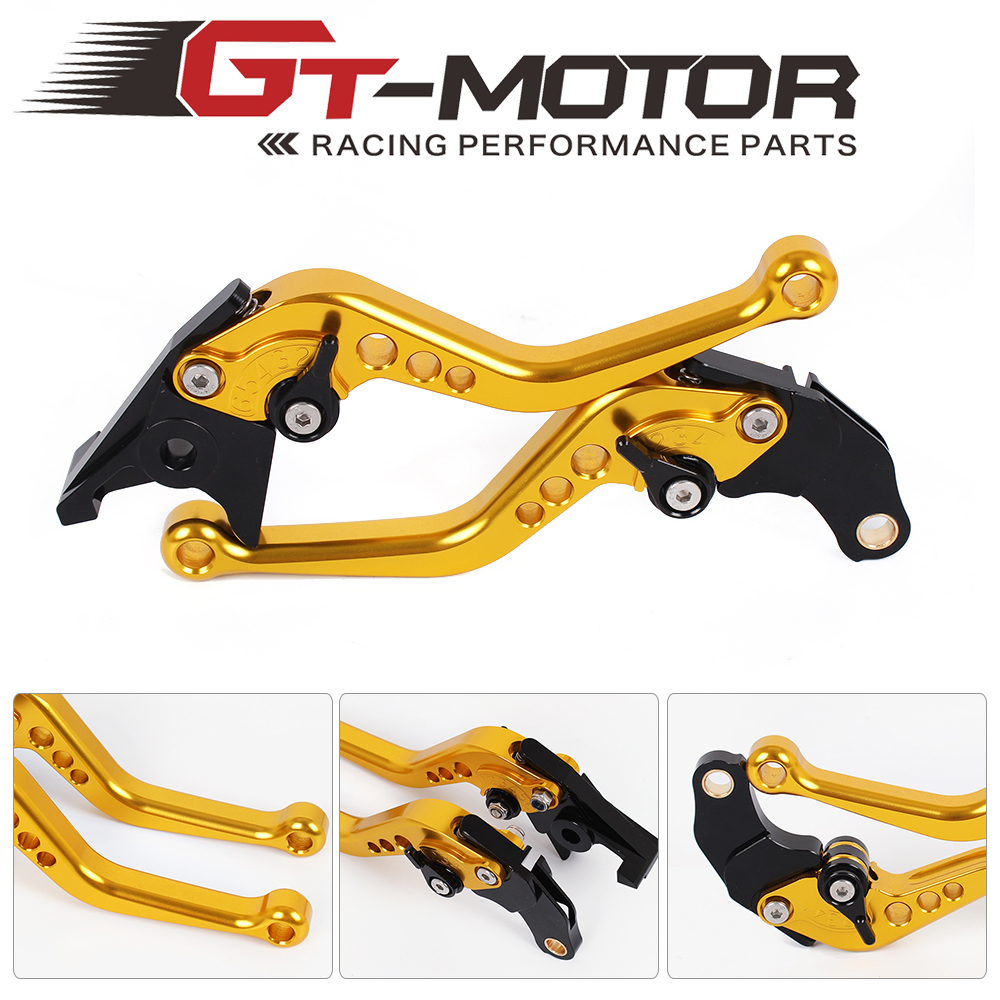 GT Motor - F-14/SV-6  Motorcycle Brake Clutch Levers For SUZUKI GS500 89-08 GS500E 94- 98 GS500F 04-09 gt motor f 18 v 00 adjustable brake clutch levers for honda vtr1000f firestorm cbf1000 vfr750 vf750s sabre vfr800 f