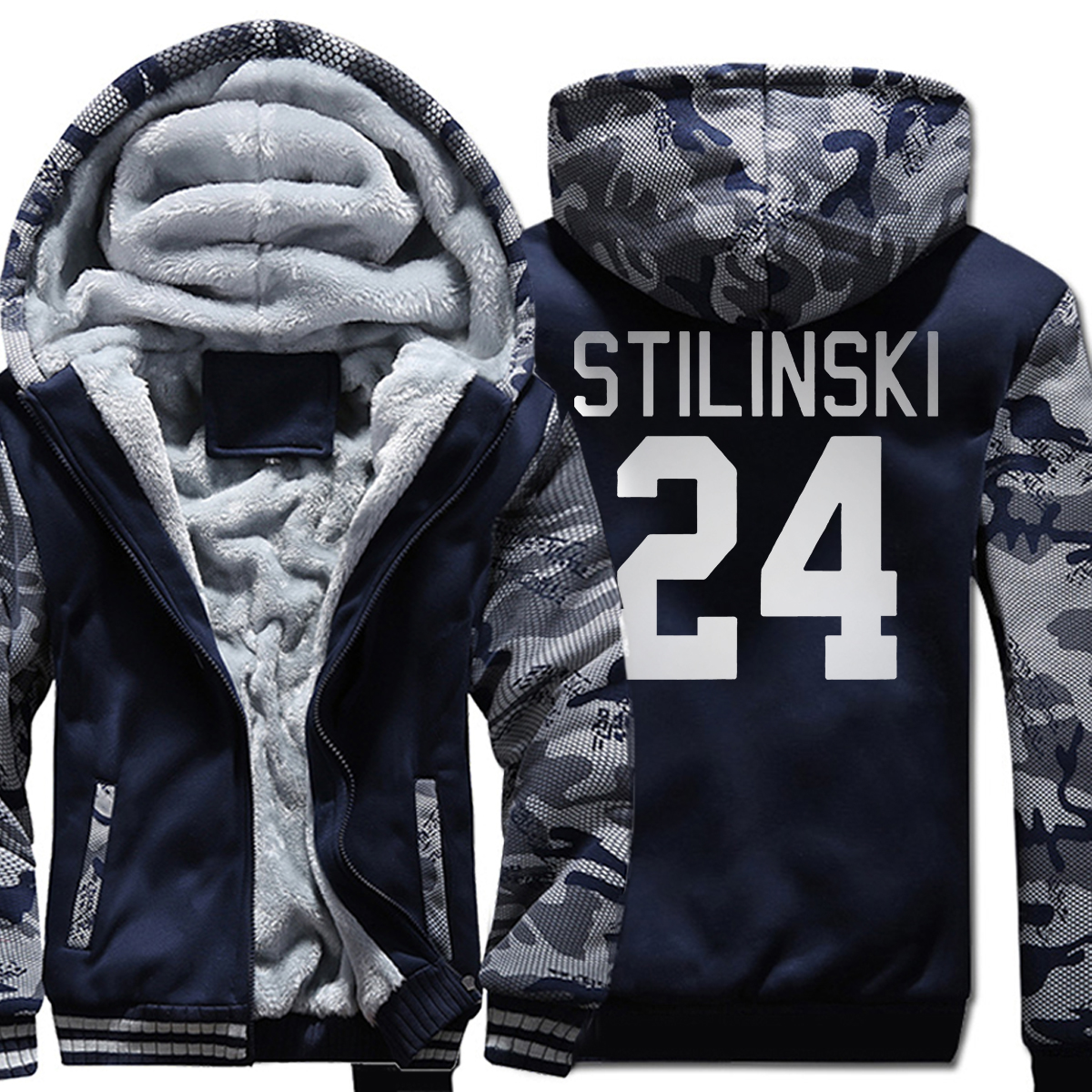 hot sale 2019 winter warm fleece Stilinski 24 men hoodies Brand Clothing Stilinski 24 Jersey men sweatshirts high quality coat