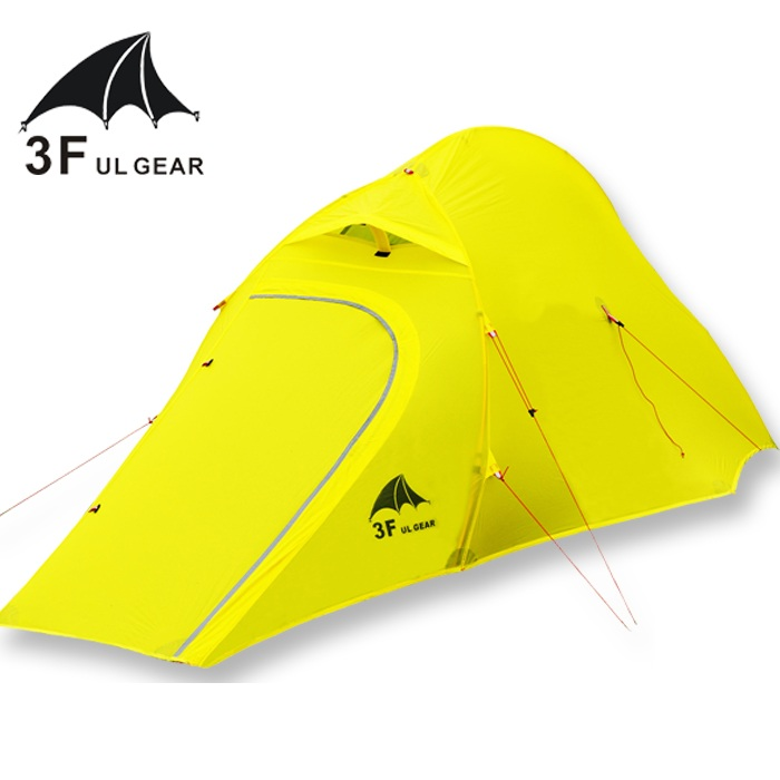 3F UL GEAR Outdoor Ultralight Carpas 15D Camping tent 1-2 Person 4 Season Tenda Tente hiking fishing beach barracas para camping