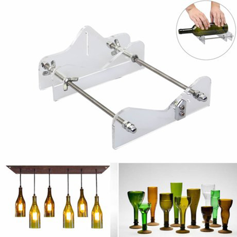 Professional Glass Bottle Cutting Machine DIY Glass Cutting Machine 3-10mm Cutting Tool Wine Machine Beer