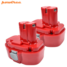 Powtree 18V 3000mAh 1822 Ni-MH Replacement Battery For Makita 1823 1834 1835 192827-3 192829-9 193159-1 193140-2