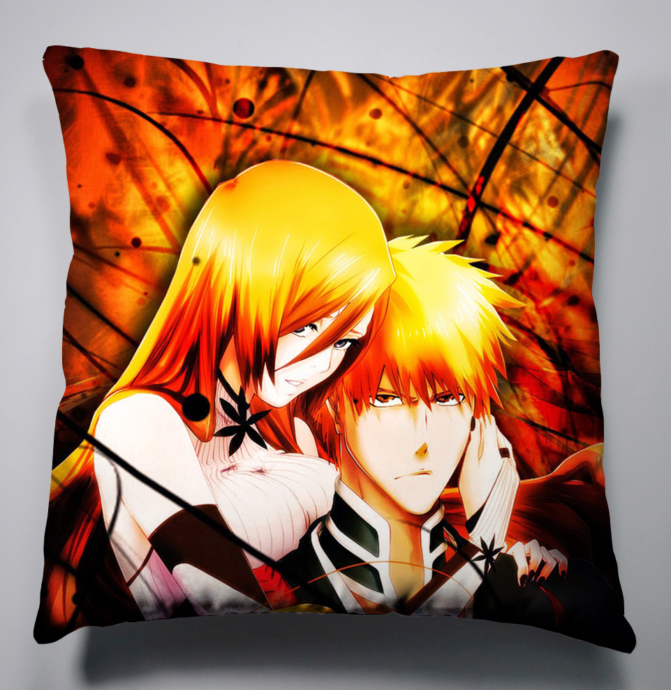 Anime Manga Covers: Free Shipping Anime Manga Bleach Pillow 35x35cm 40x40cm