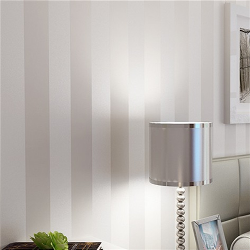 beibehang wallpaper for walls 3 d modern wallcovering papel de parede 3d stripe wall paper roll glitter non-woven background living room bedroom wallpaper roll modern solid color non woven thin vertical stripe wall paper mural for walls papel de parede