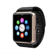 Marke Neue Smart Uhr GT08 Uhr Sync Notifier Unterstützung Sim-karte Bluetooth Konnektivität Für Apple iphone Android Telefon Smartwatch