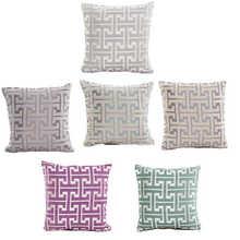 Novo padrão impresso fronhas capa super tecido casa cama decorativa lance cama fronha